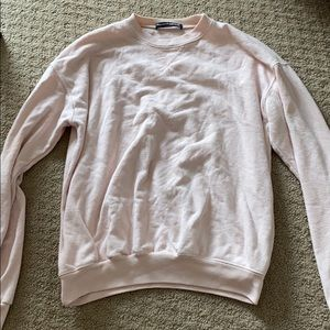 Brandy Melville Light Pink Sweatshirt